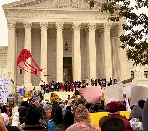 Image for AALDEF stands with DACA recipients in historic Supreme Court case
