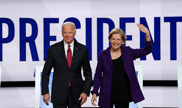 Image for Asian Americans favor Biden, Warren while Yang lags behind, survey finds