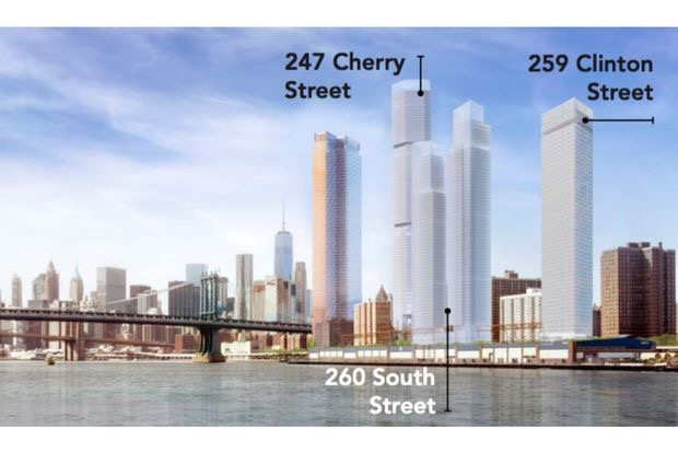 Image for Neighborhood Group Sues the City to Stop New Towers in Two Bridges