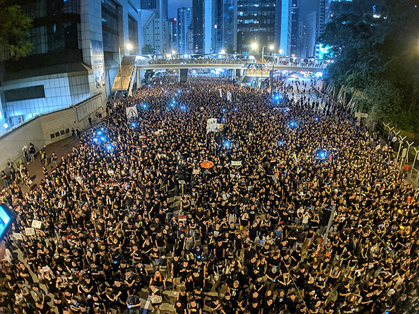 Image for Emil Guillermo: The fight is on in Hong Kong, but there's a battle for Asian American civil liberties in the U.S. too