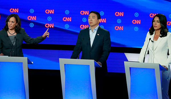 Image for Emil Guillermo: Does Andrew Yang know the Kool-Aid he was drinking at the CNN debate?