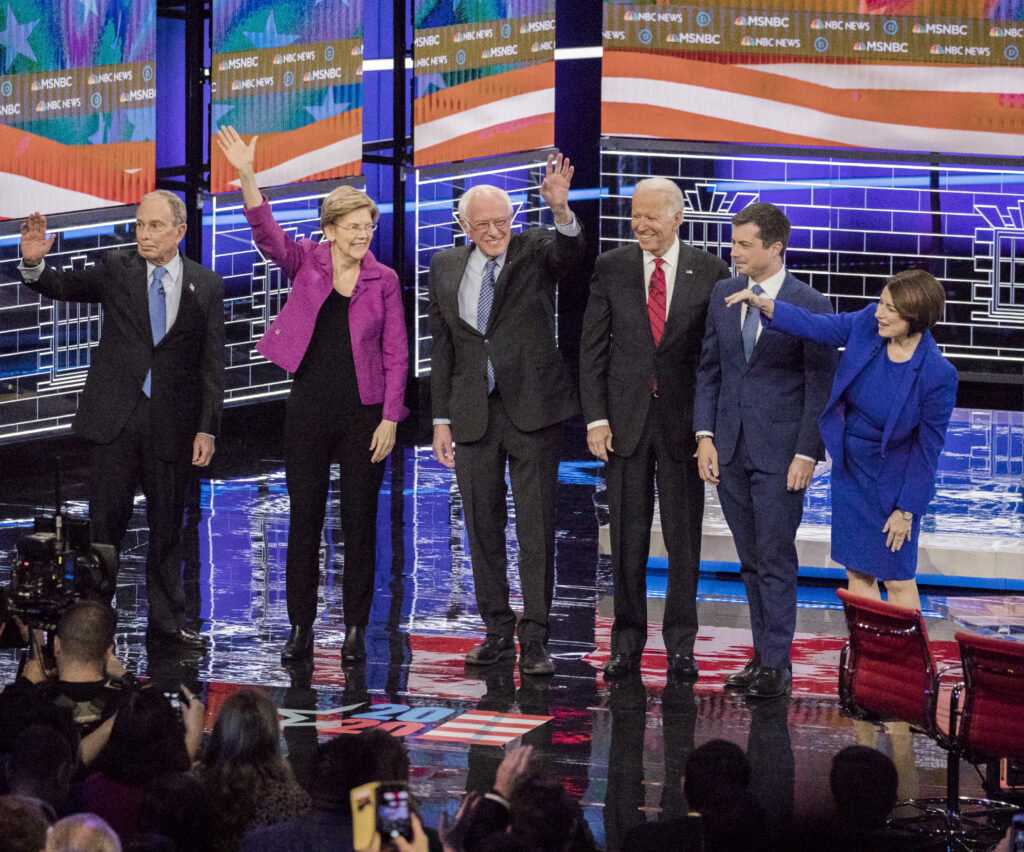 Image for Emil Guillermo: That Nevada debate was Warren's shining moment, but Sanders still leads