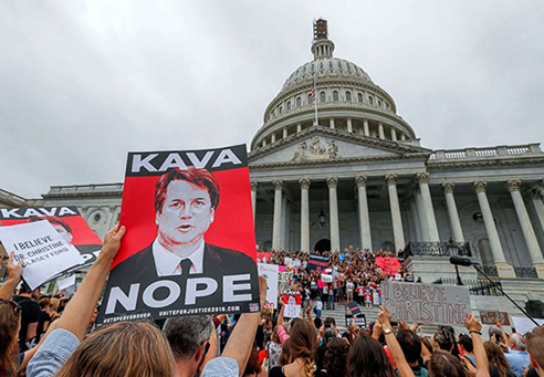 Image for Emil Guillermo: The beginning of America's undoing--the confirmation of Brett Kavanaugh