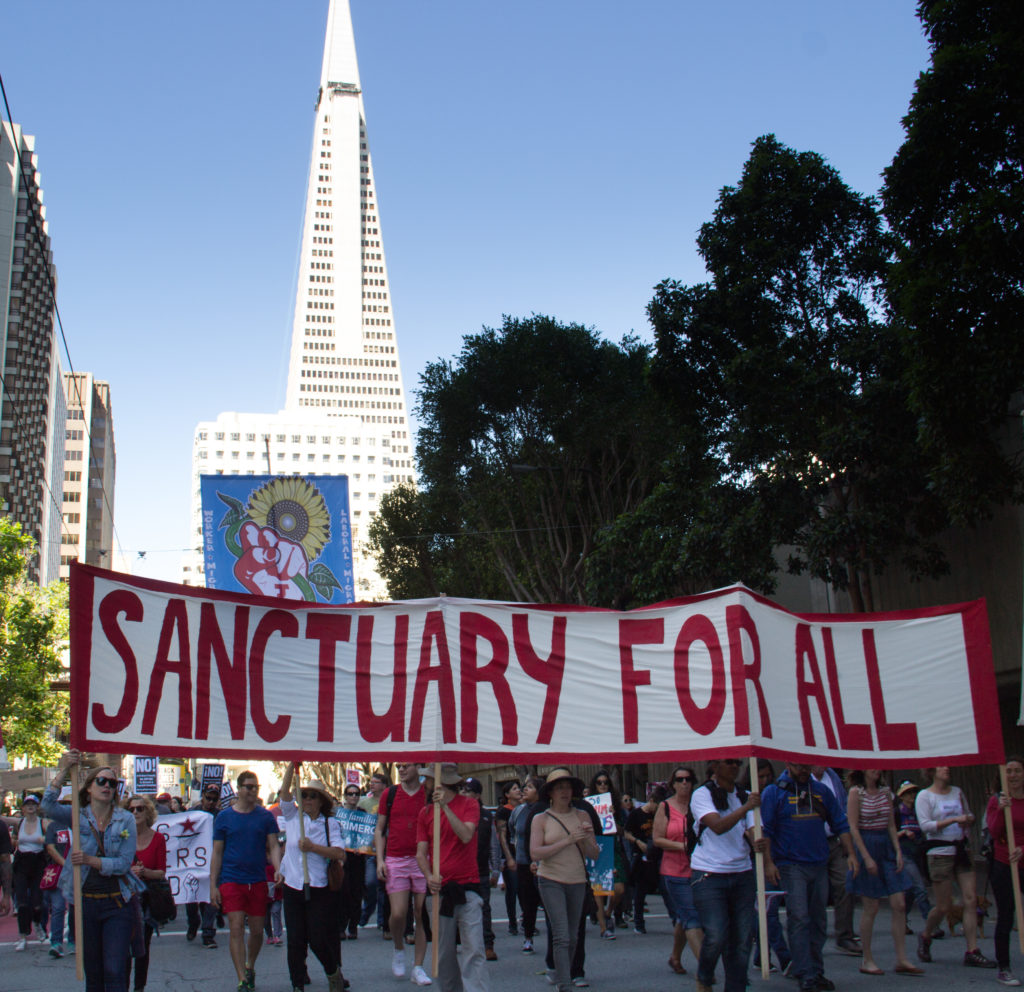 Image for Emil Guillermo: Trump's sanctuary dump and the mischaracterization of California's law to protect immigrants