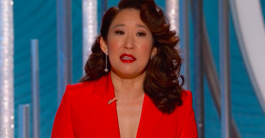 Image for Emil Guillermo: I am but a trim tab for diversity watching Sandra Oh on the Golden Globes