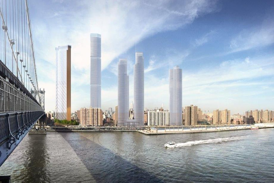 Image for Two Bridges tower hit with lawsuit from community groups