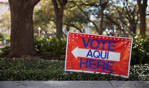 Image for Latino voters, civil rights groups reach settlement with Texas over purging of voter rolls
