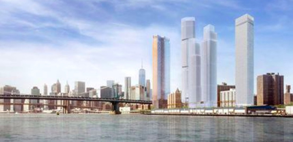 Image for NY Daily News - N.Y. judge rules against luxury 'Two Bridges' development that de Blasio had embraced