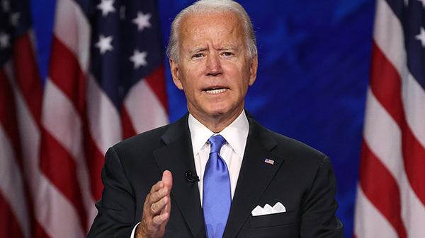 Image for Emil Guillermo: Dems energized as Biden awakens with strong speech at DNC