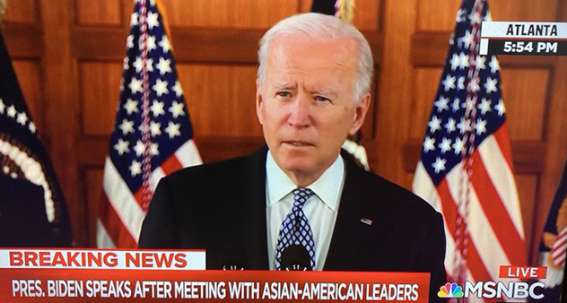 Image for Emil Guillermo: Will Biden's words make a difference for Asian Americans or does the hate get recycled?