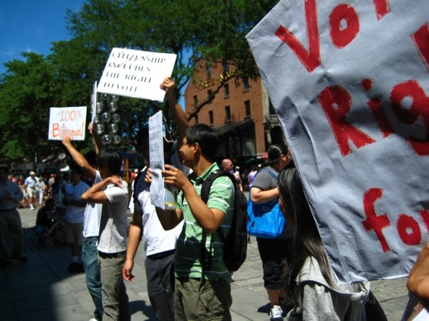 Image for Sampan: Immigrants face barriers to voting rights in upcoming election