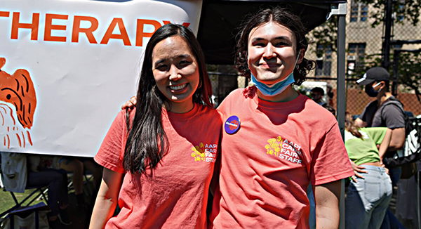 Image for AM New York: 'Care Fair' in Chinatown promotes self-defense and a rebounding neighborhood