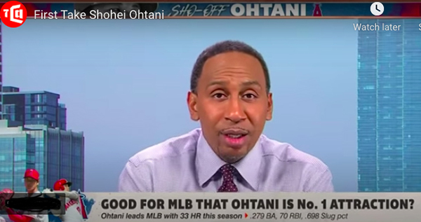 Image for Emil Guillermo: Ohtani attacks make Stephen A. Smith the modern-day Al Campanis