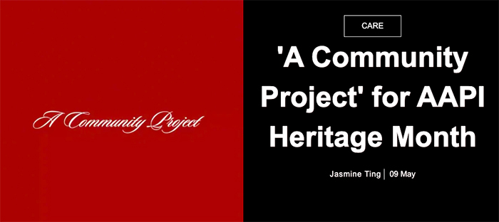 Image for Paper: 'A Community Project' for AAPI Heritage Month