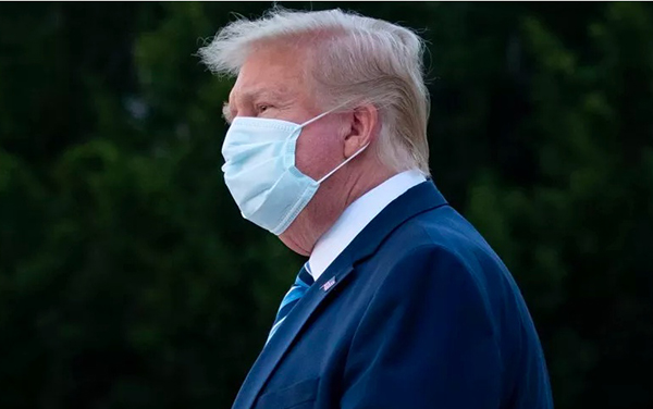 """Image for Newsweek: President Trump deletes COVID Tweet, But Not For Calling It 'Chinese Virus"""""""