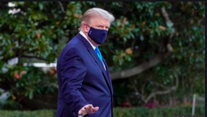 Image for Emil Guillermo: Sick? Trump taking private lessons at Covid U.